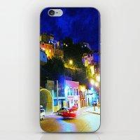 Guanajuato at night iPhone & iPod Skin