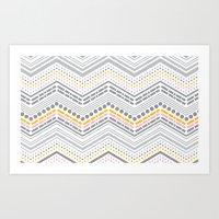 Dash & Dot - Neapolitan Art Print