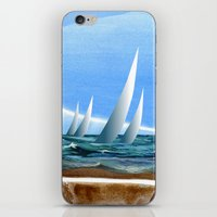 The Geology of Boating iPhone & iPod Skin