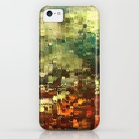 iPhone 5c Cases featuring Abstract Industrial by rafi talby by Rafi Talby - Painter