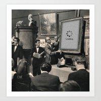 Silent Auction Art Print