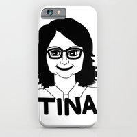 iPhone & iPod Case featuring Tina Fey by Flash Goat Industries