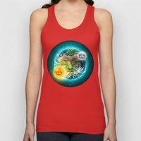 The Earth Unisex Tank Top
