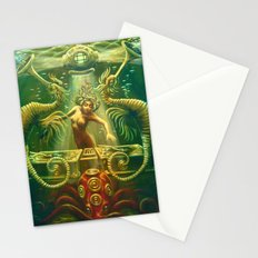 DJ Seahorse Stationery Cards
