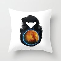 Metroid Prime Throw Pillow