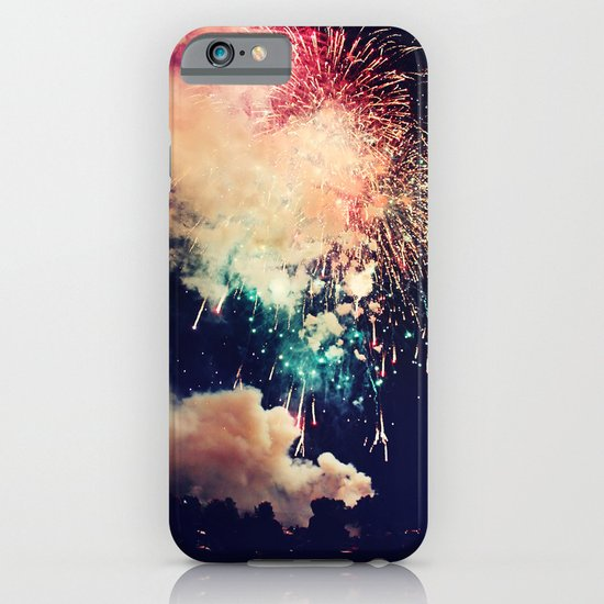 Bursts of light. iPhone & iPod Case