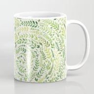 Leaf Pattern 2 Mug