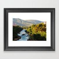 Carinski Bridge, Mostar Framed Art Print