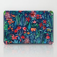 Tropical Ink - a watercolor garden iPad Case