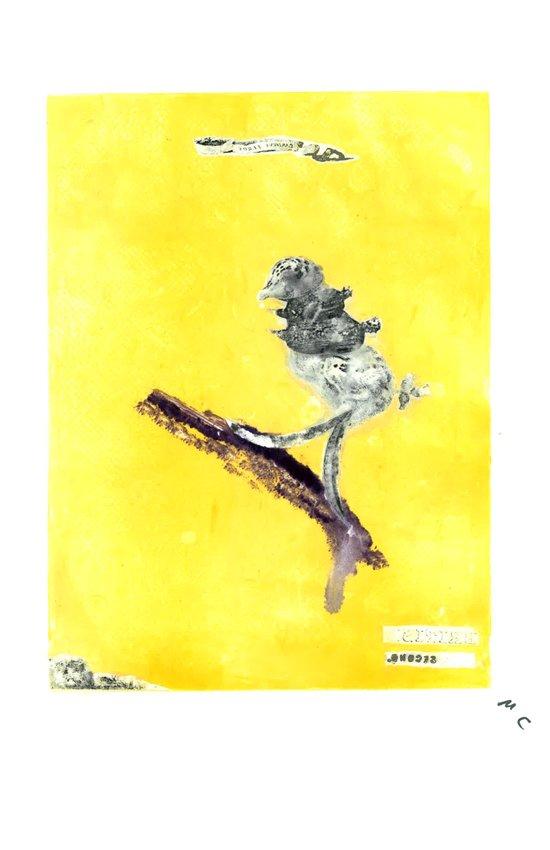 YellaBird | British Second | Art Print