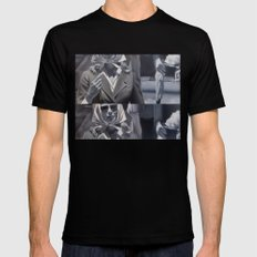 House of women Black SMALL Mens Fitted Tee