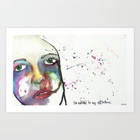 I'm Entitled To My Affli… Art Print