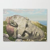 The Man Who Fell To Eart… Canvas Print