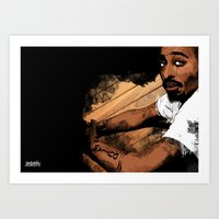 Thugs Get Lonely Too Art Print
