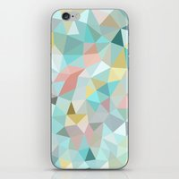 Pastel Tris iPhone & iPod Skin