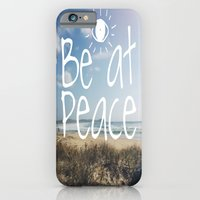 Be at peace iPhone 6 Slim Case