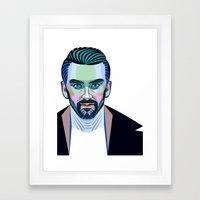 Nyle DiMarco Framed Art Print