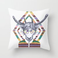 DREAMTAPES, Created By E… Throw Pillow