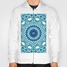 Sea Green Mandala Hoody