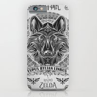 Legend of Zelda Twilight Wolf Link Line Art iPhone 6 Slim Case