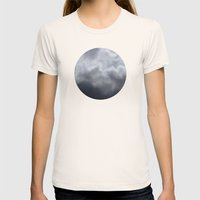 Planetary Bodies - Cloud Womens Fitted Tee Natural SMALL