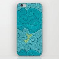 Surf Side - AQUA iPhone & iPod Skin