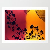 The Flower Of Our Discon… Art Print