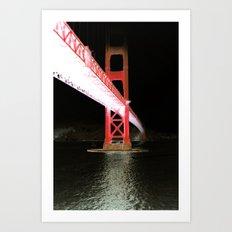 Midnight San Francisco  Art Print