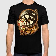 Raiders of the lost star SMALL Mens Fitted Tee Black