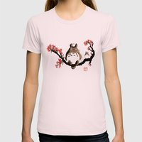 Mon Voisin T. Womens Fitted Tee Light Pink SMALL