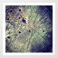 Nature Rings Art Print