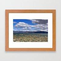 Mono Lake Framed Art Print