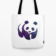 SPACE PANDA Tote Bag