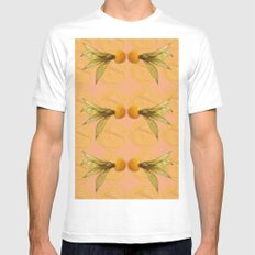 Fruit Physalis 4 Mens Fitted Tee White SMALL