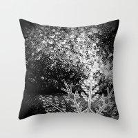 Winter Theme Throw Pillow