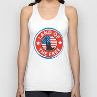 Land of the Free Unisex Tank Top