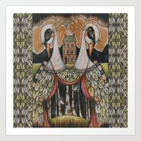The Gatekeepers Art Print