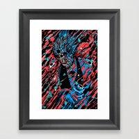 Blood, Matter & Black Holes Framed Art Print