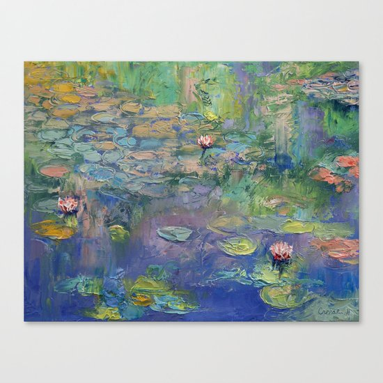 Water Garden Canvas Print By Michael Creese Society6