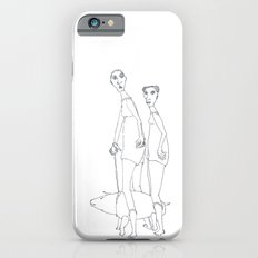 two girls and a dog iPhone 6s Slim Case