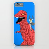 iPhone & iPod Case featuring Dinosaur B Forever by Isaboa