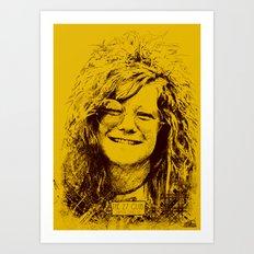 27 Club - Joplin Art Print