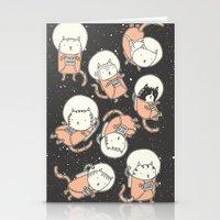 Cat-Stronauts Stationery Cards