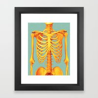 Skeleton Framed Art Print