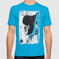 ##### Mens Fitted Tee Teal SMALL