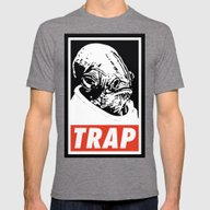 Obey Ackbar's TRAP Mens Fitted Tee Tri-Grey SMALL