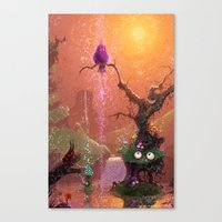 Lips Canvas Print