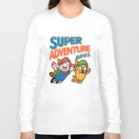 Super Adventure Bros Long Sleeve T-shirt