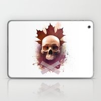 Skull and Leaf Laptop & iPad Skin