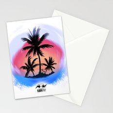 surfapimp island Stationery Cards